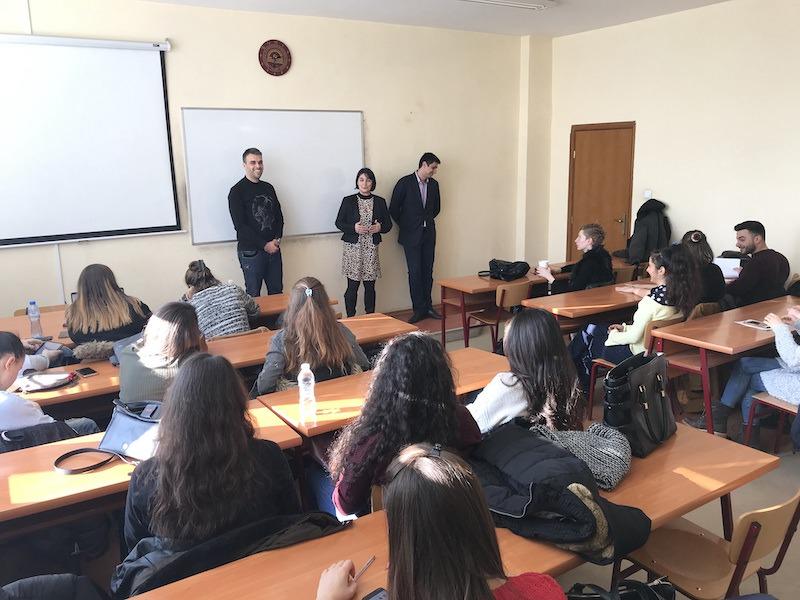 """Лекторите на """"Пътят на предприемача"""" гостуват в УНСС"""