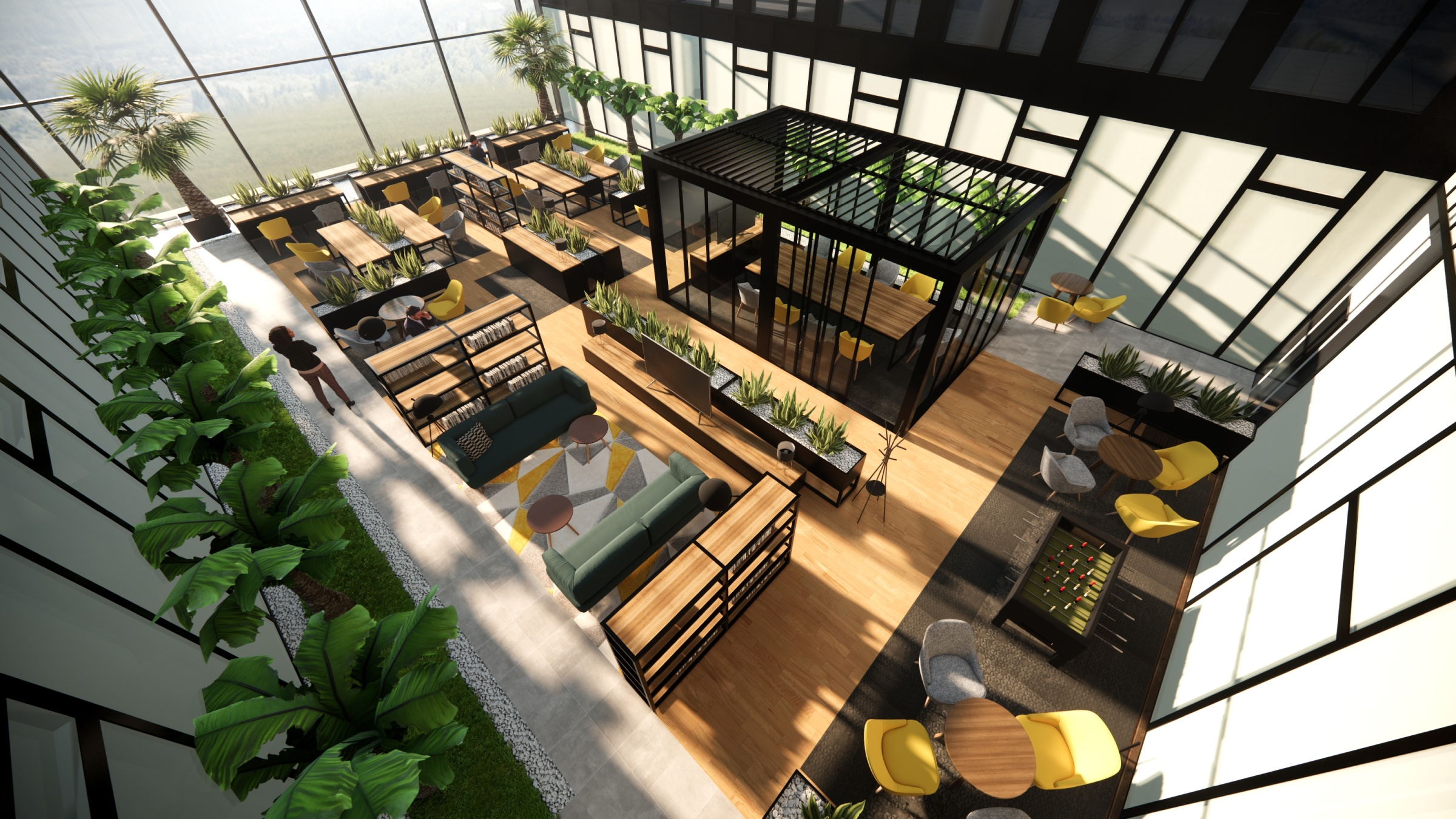 Flexible workspace – the office of the new era